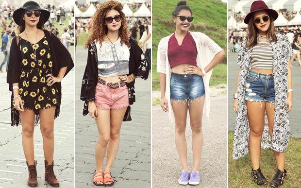 Veja os looks das garotas que passaram pelo Lollapalooza 2015