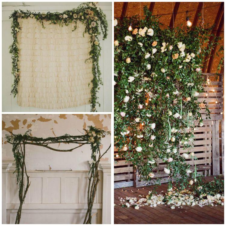 Diy Indoor Wedding Arch: Indoor Ceremony Decor - 7 Impressive Ideas