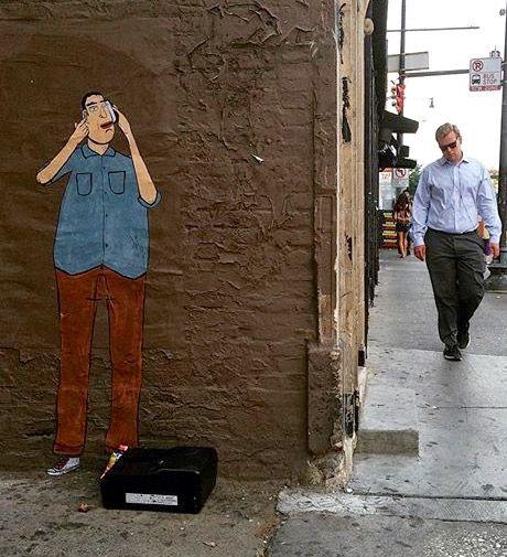 by dont fret in Chicago, Wicker Park, 8/15 (LP) #streetart