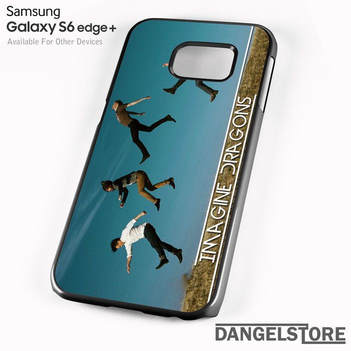 Imagine Dragons Jumping together Cover For Samsung S6 Edge Plus Case