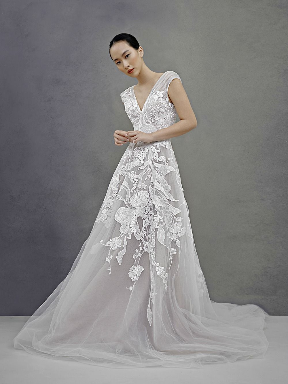 Ivy And Aster Fall 2019 Dress Collection Pink Wedding Dresses