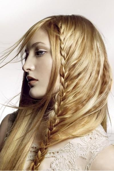 Awesome Long Blonde Braided Homecoming Hairstyle » Homecoming Hairstyles
