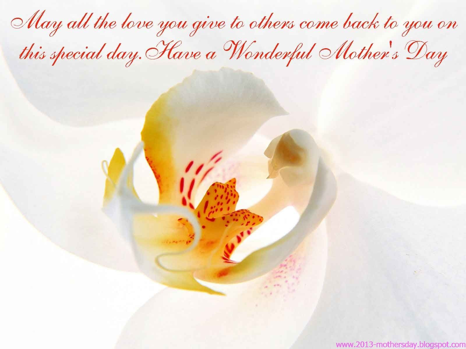 Mothers Day 2013 Desktop HD Wallpapers