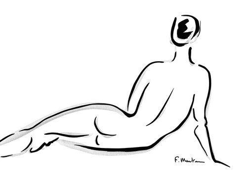 Acrylglasbild Frederique Marteau Cathy 107 X 80cm