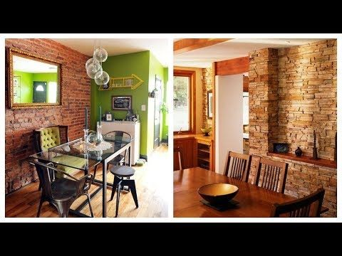 2 como decorar las paredes con piedra youtube ima - Paredes decoradas con piedra ...