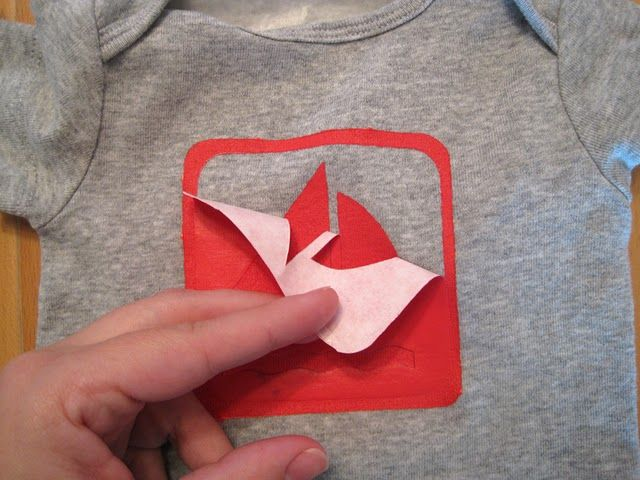 Screen Printing Using Freezer Paper And Fabric Paint This