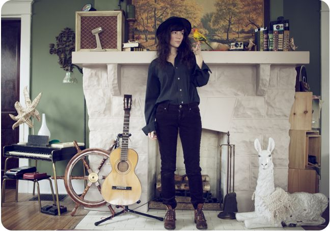 in the home of Natalie Prass photographed by Laura D'Art