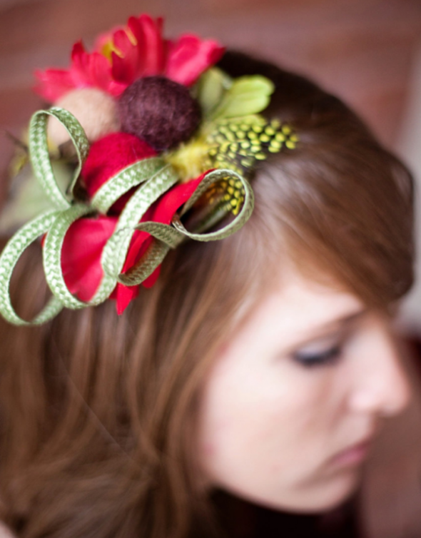 Must-See Modern Headpieces For Your Bridesmaids – Part