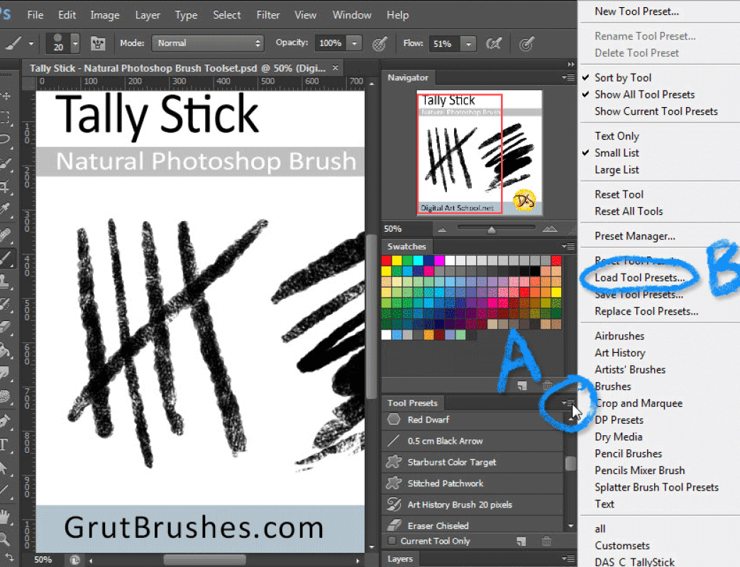 How to add a font into photoshop