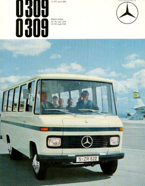 bd8d69e38f Mercedes  Benz  O309 - der alte Schulbus