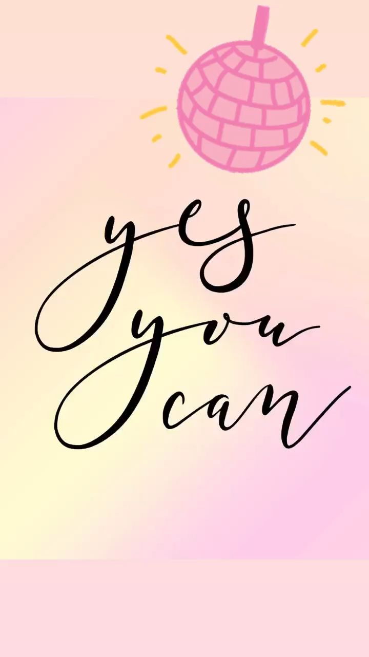 Yes You Can Printable - Pretty Collected