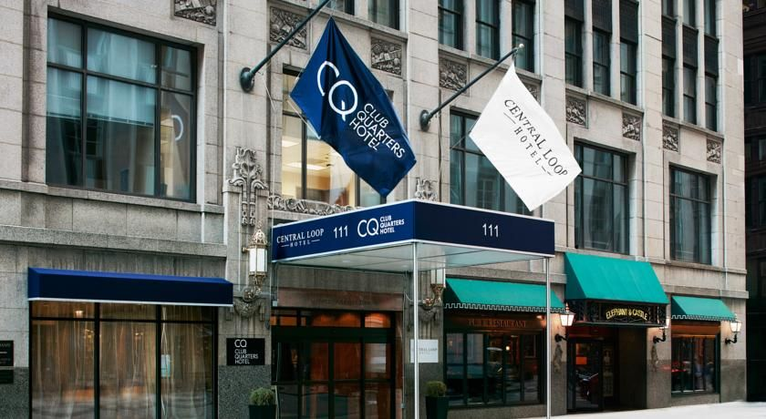 Club quarters hotel central loop chicago a short 7minute