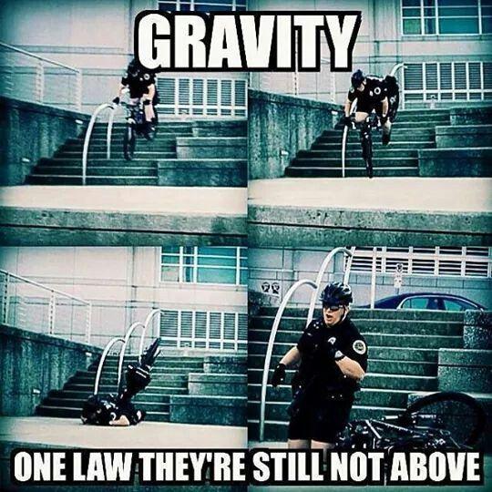 Gravity, police