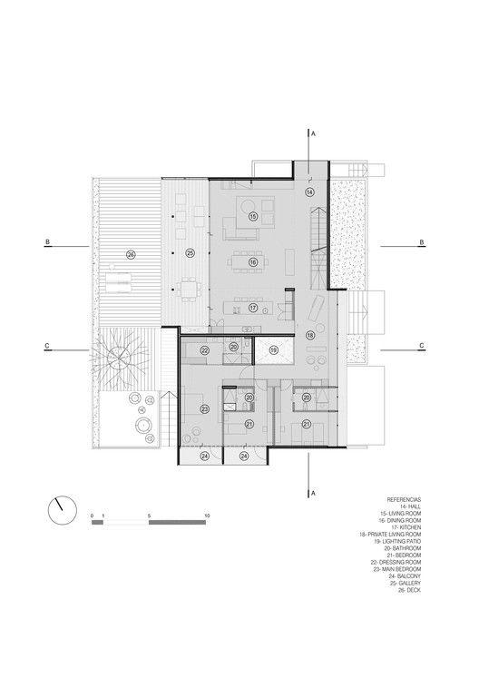 Gallery Of Shungo House A4estudio 18 Con Imagenes Casas Planos De Casas Modernas Plano De Arquitecto