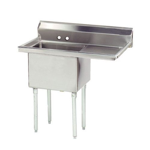 "Found it at Wayfair - Economy 38.5"" x 23.75"" Single Fabricated Bowl Scullery Sink"