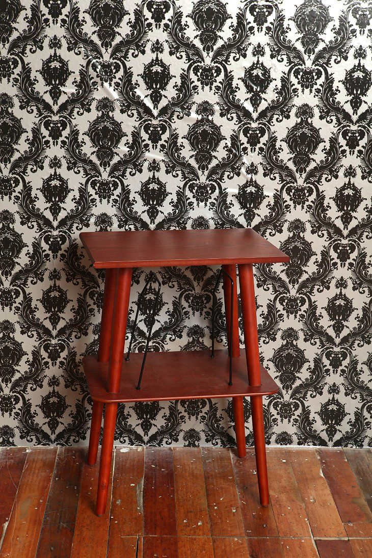 Damsel removable wallpaper metallic urban outfitters for Metallic removable wallpaper