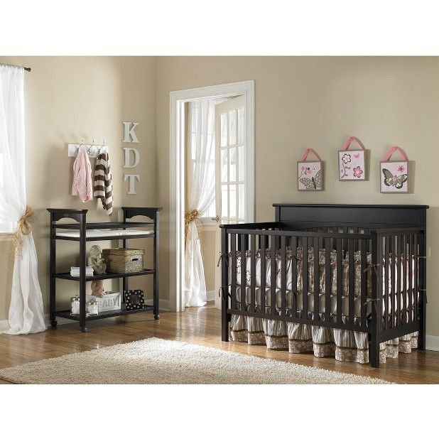 Target Expect More Pay Less Cribs Baby Crib Designs Convertible Crib Espresso