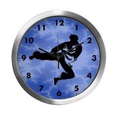 Karate kicker clock
