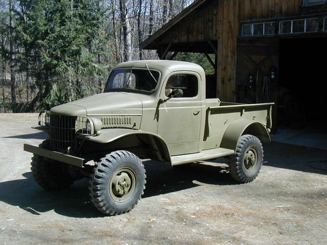 1941 Dodge Wc 12 Dodge Power Wagon Dodge Trucks Trucks