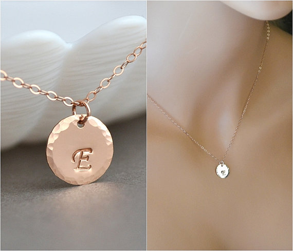 Gold disc necklace initial necklace hammered disc personalized 9d2b0e3b0b372304794fa068145d3f4cg mozeypictures Image collections