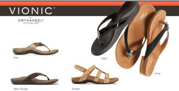 50c8f36880e622 Vionic Sandals for Plantar Fasciitis