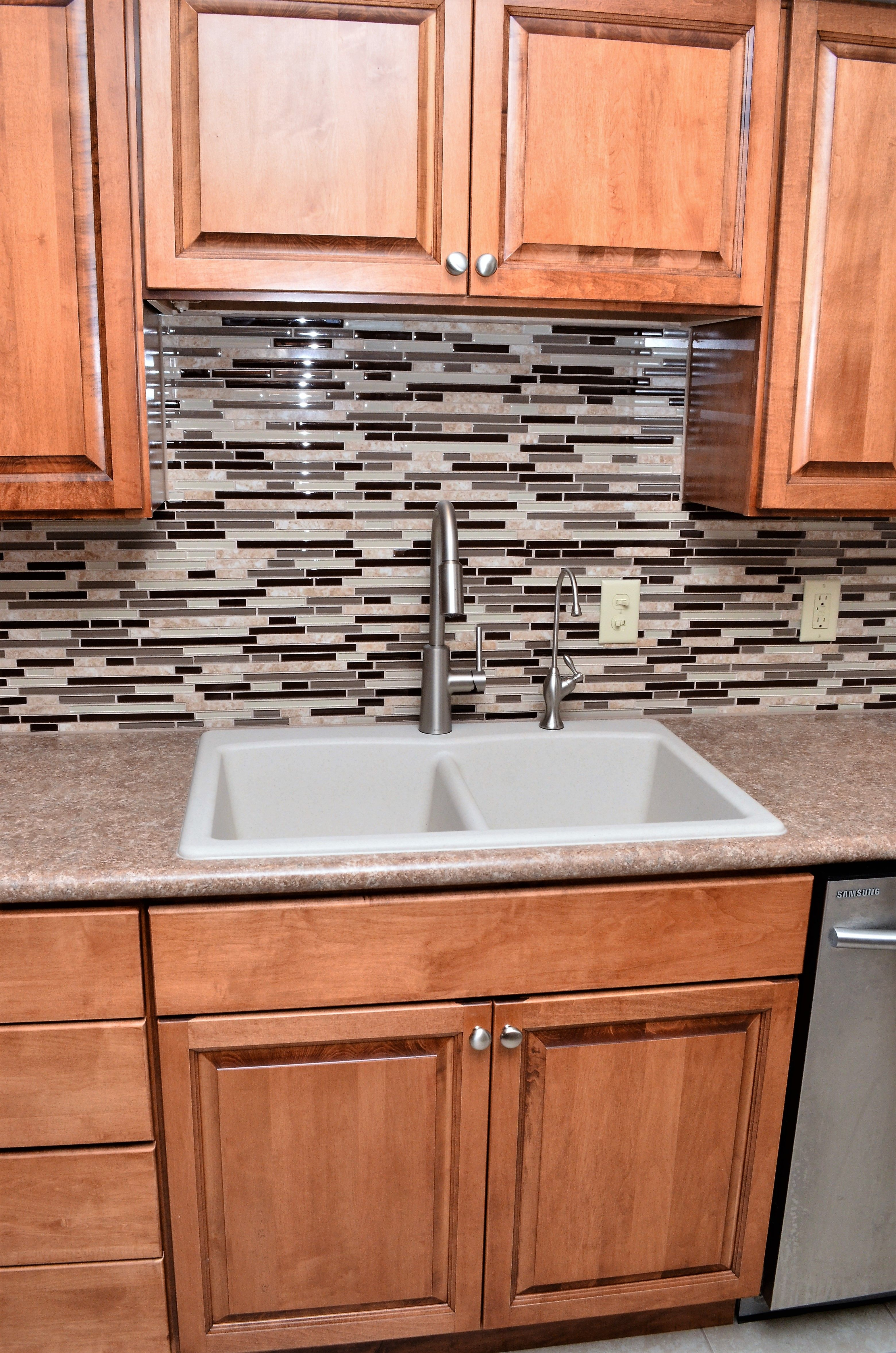 Haas Lifestyle Upland Maple Pecan Kitchen Home Home Decor
