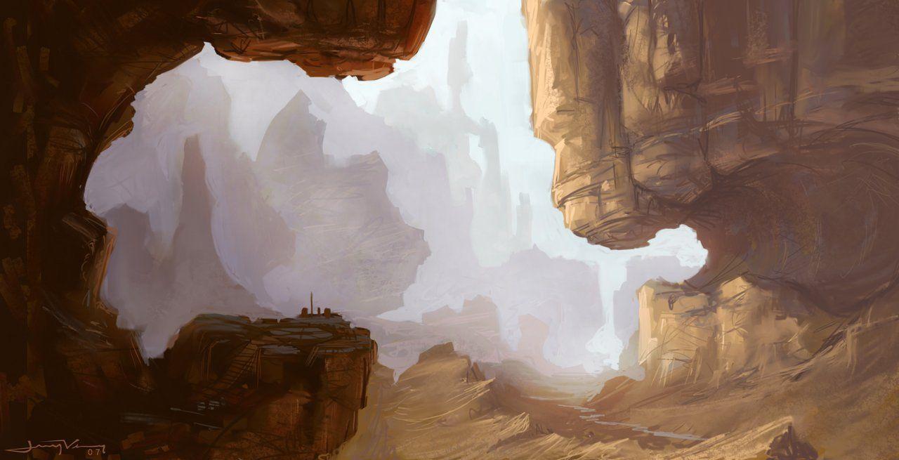 Canyon of Forgotten Dreams by jermilex on DeviantArt