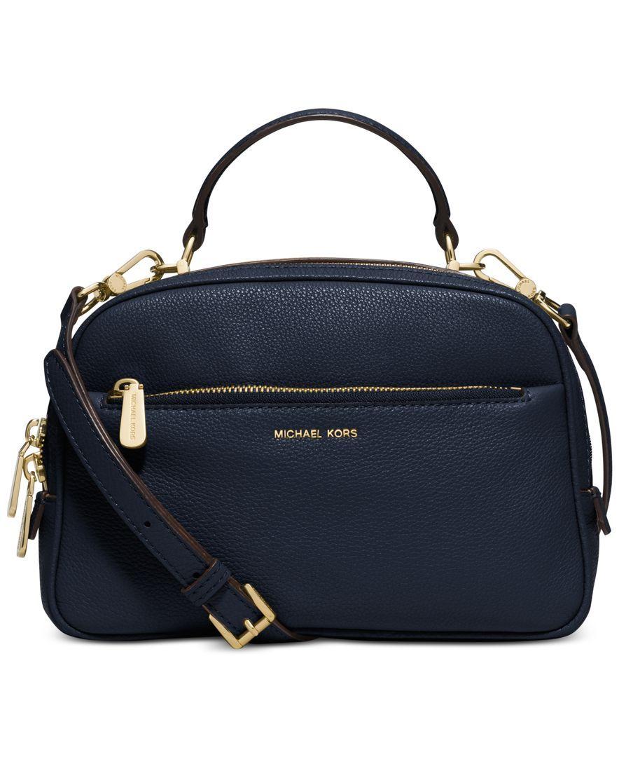 Michael Kors Luka Small Satchel Handbags Accessories Macy S