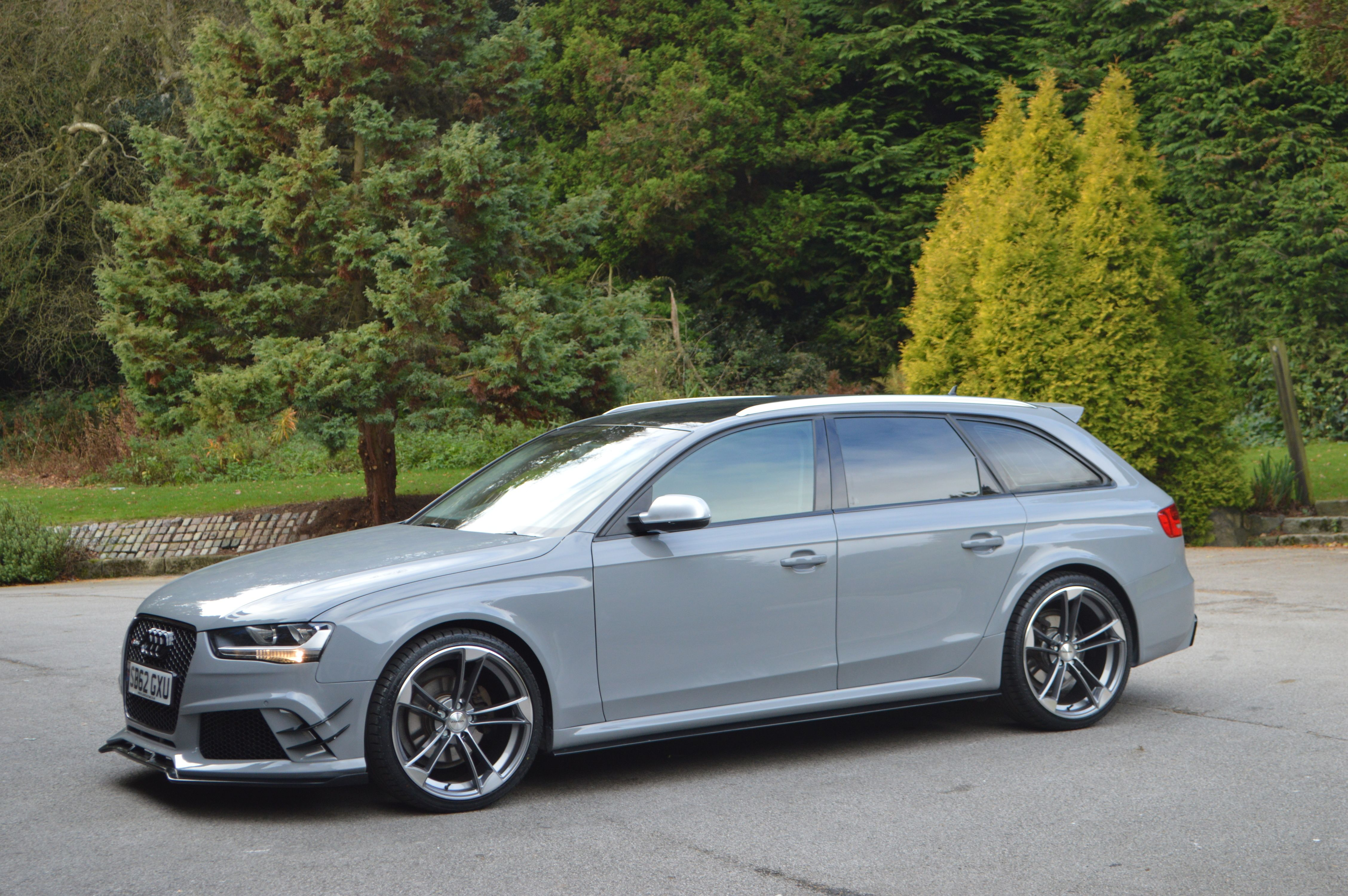 Audi Rs4 Avant Body Kit For Audi A4 B8 By Xclusive Customz Sheffield Audi A4 Audi Audi A4 Avant