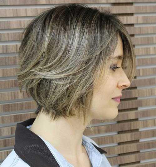 Corte de pelo picado corto
