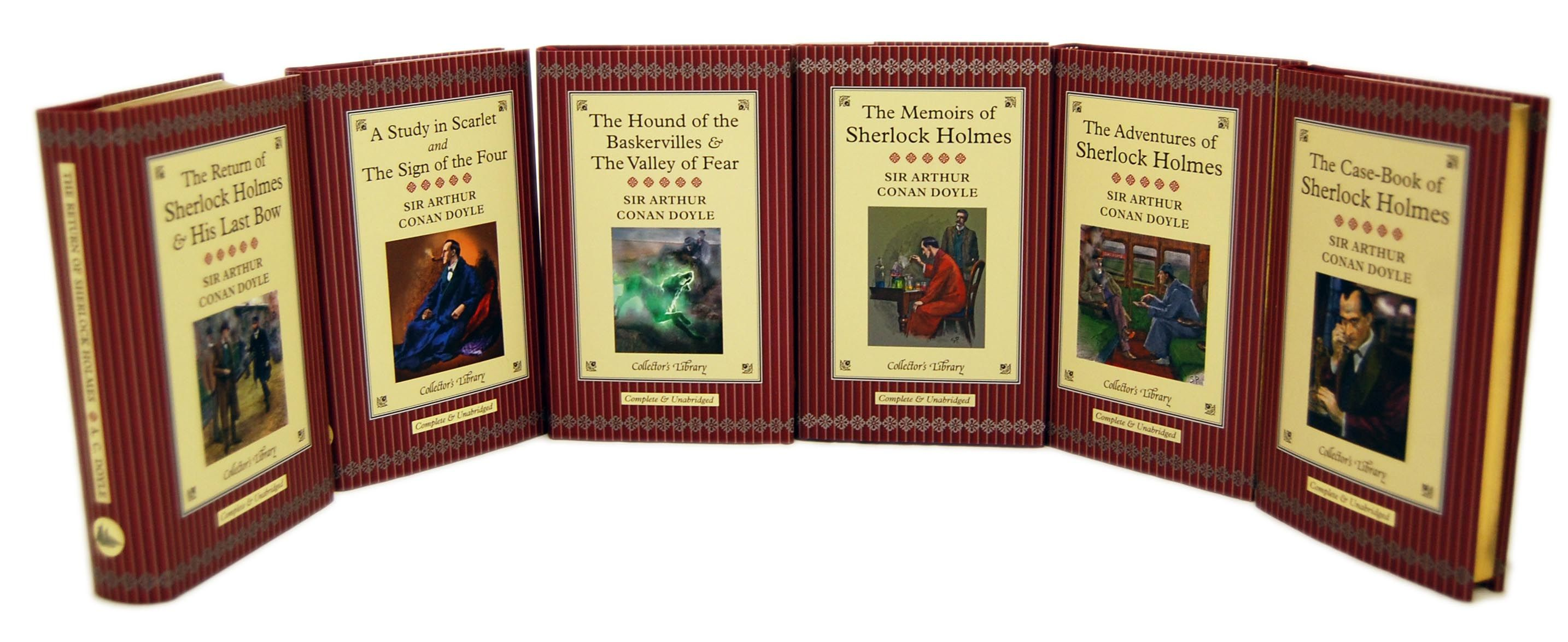 Sherlock Holmes 6 Books Box Set Collectors Library Book Box Sherlock Sherlock Holmes