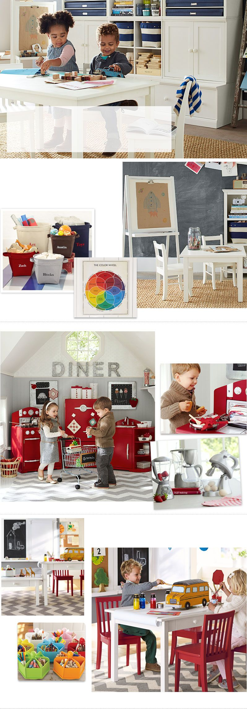 Play Room Ideas Amp Toy Room Ideas Pottery Barn Kids Toy