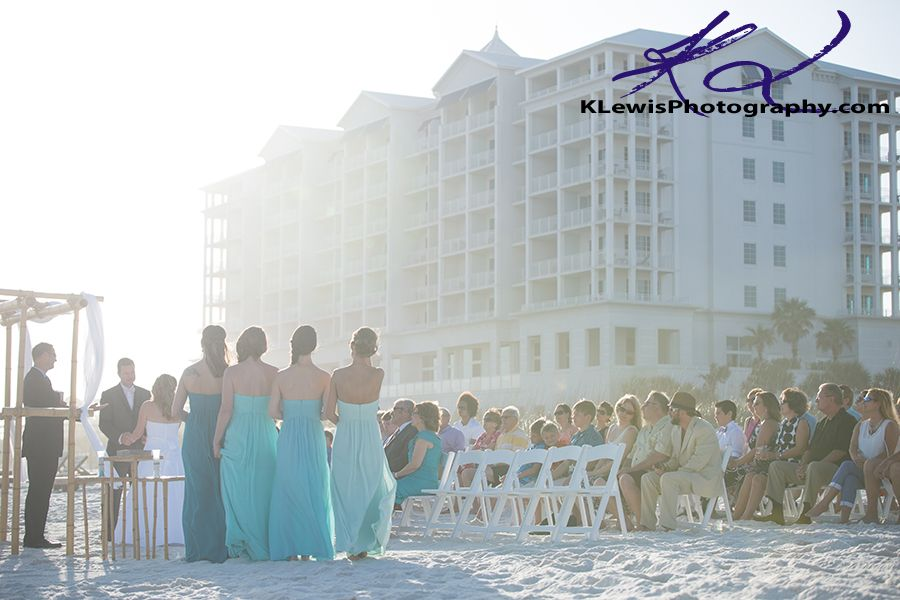 Margaritaville Pensacola Beach Florida Wedding Ceremony Photographer