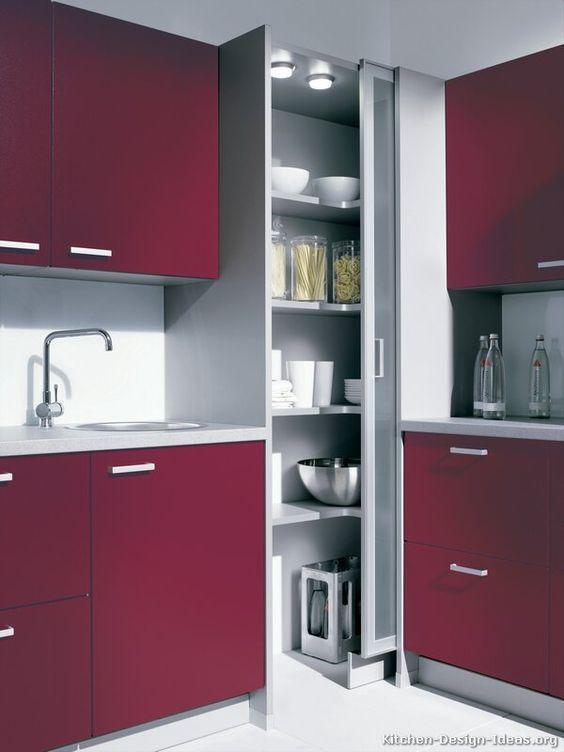 32 erstaunliche moderne Küchenschrank-Design-Ideen