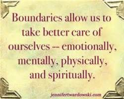 Boundaries in friendships