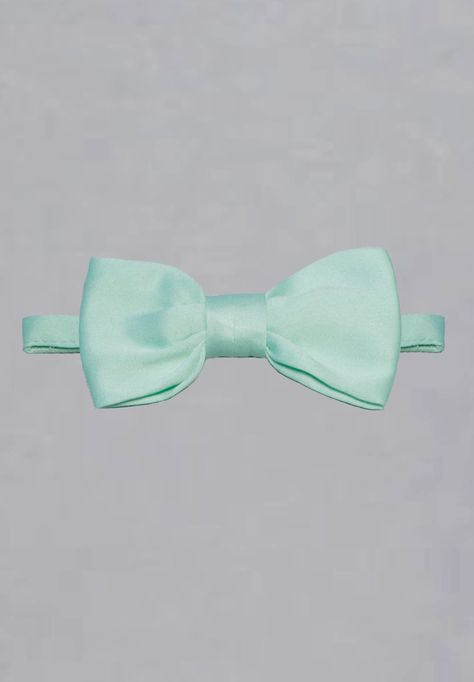 58c6a32eb0623 Noeud papillon de cérémonie vert d'eau en coton pour garçon ...