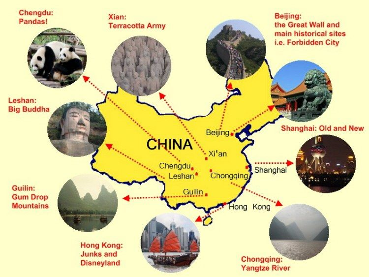 Mapa de China para Nios  Proyecto Infantil China  Pinterest
