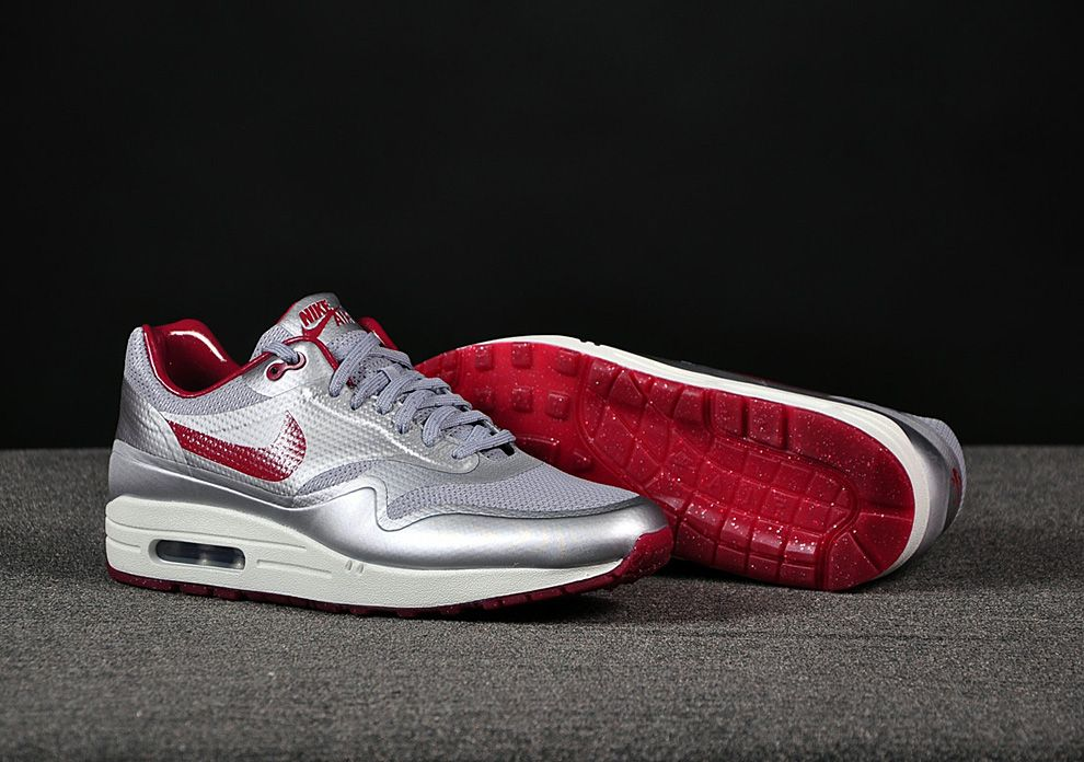 """Nike Air Max 1 Hyperfuse """"Night Track"""" (Deep Red)"""