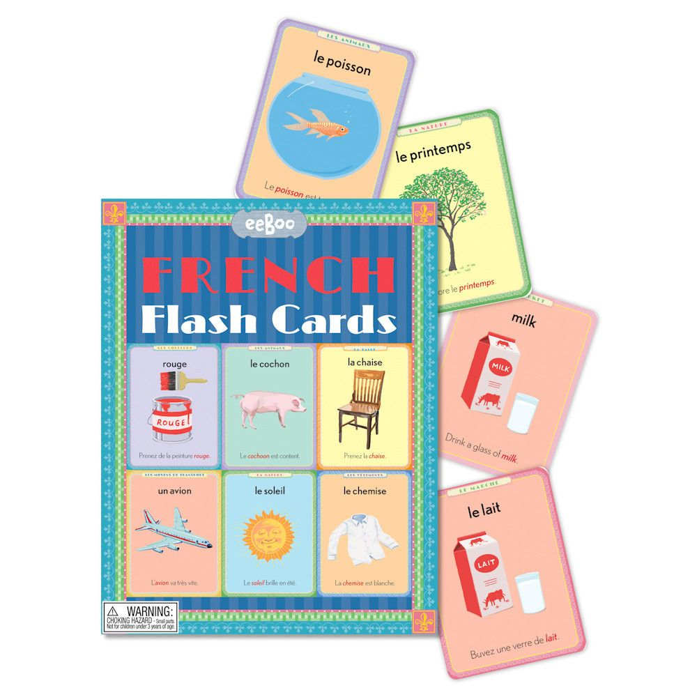 Dilly Dally Kids — French flash cards | French flashcards ...
