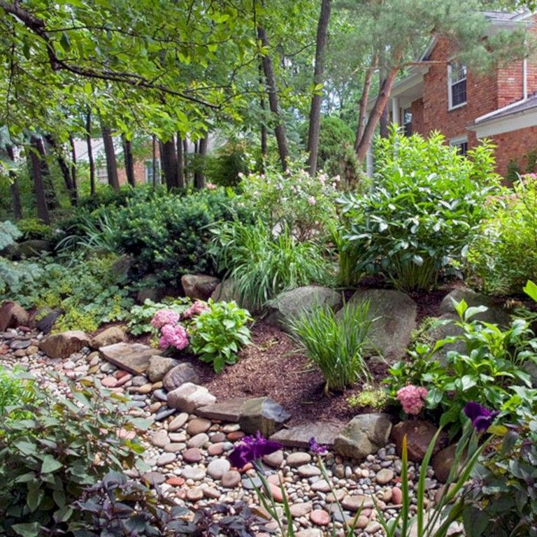 73 lovely rain garden you should have in your home front