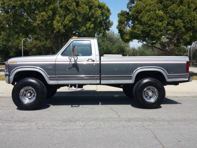 1986 Ford F250 Lariat Xlt 4x4 Diesel A C A T P S P B Super Nice Ford Pickup Trucks Ford F250 Diesel Ford F250