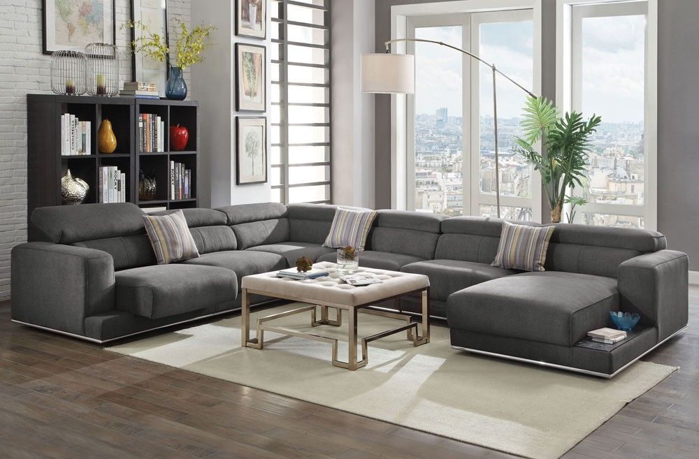 Maura Modern Living Room Sectional   Projects to Try   Pinterest ...
