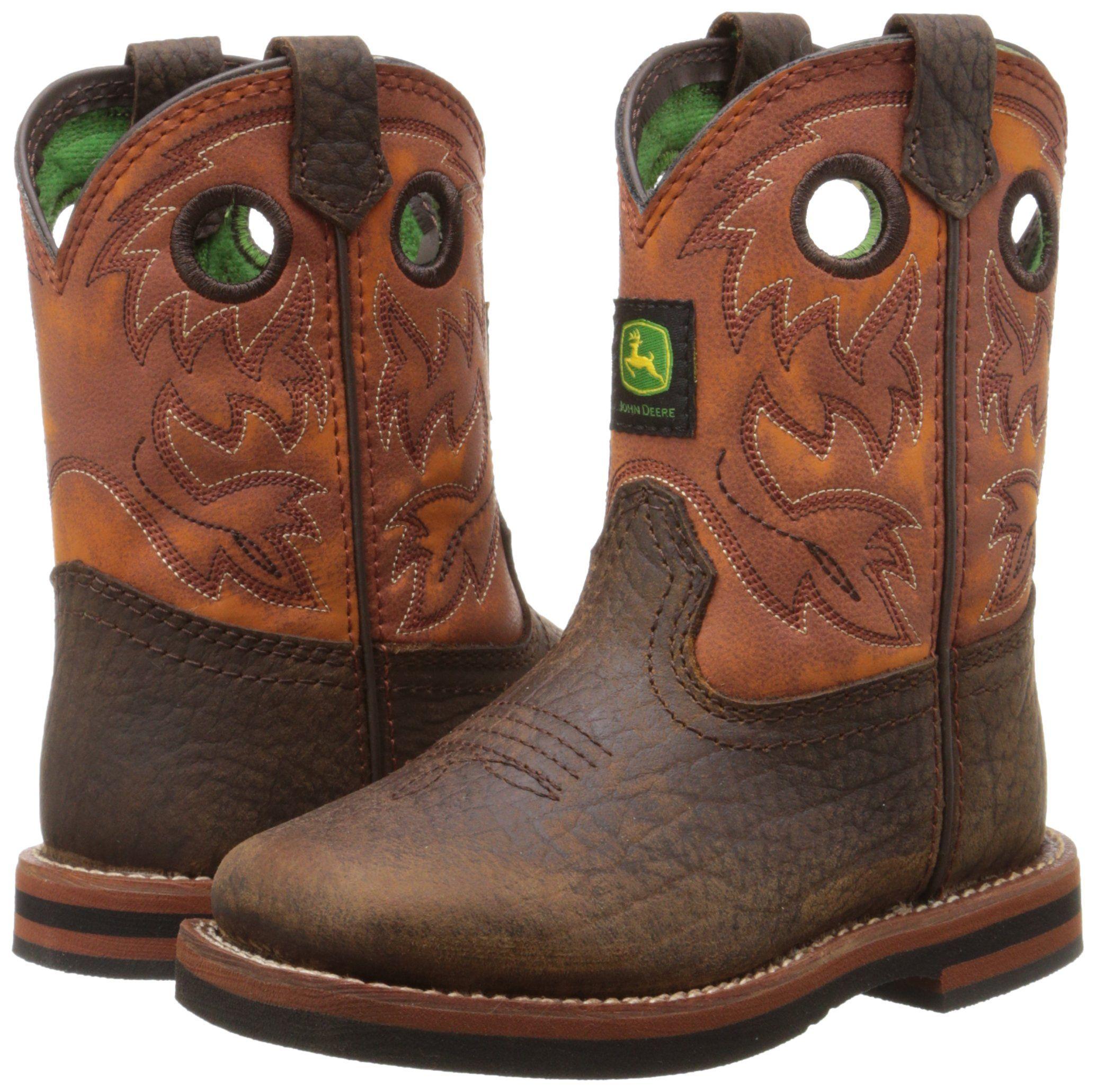 John Deere 1318 Western Boot Toddler