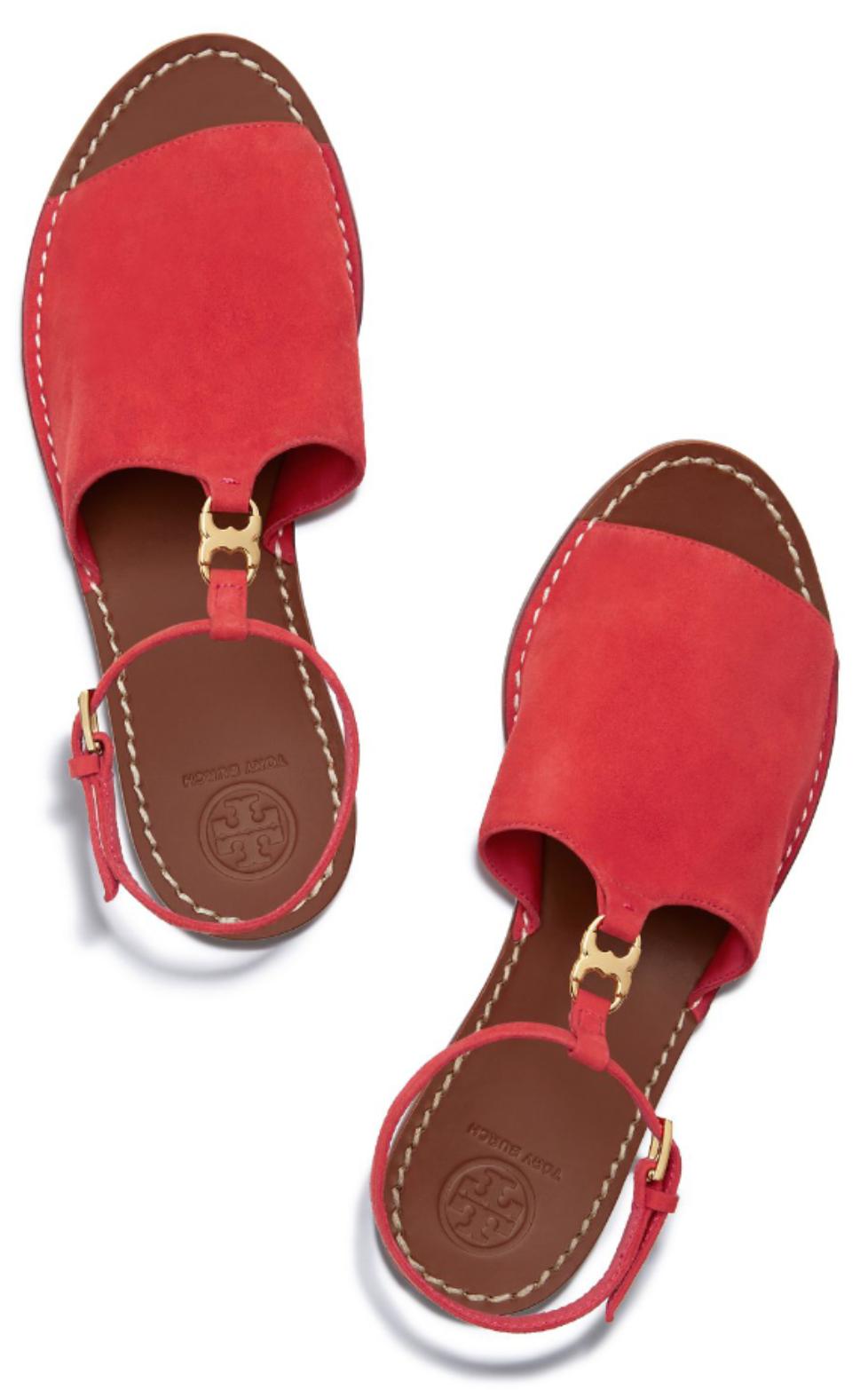 5041bc54155 Tory Burch Gemini Link Ankle-Strap Sandal