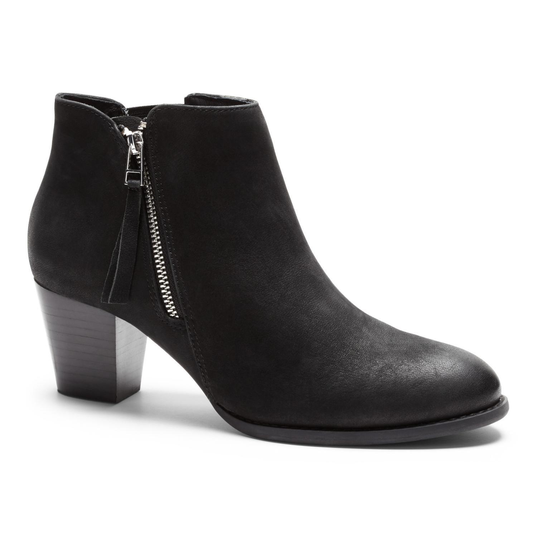 5b6301b9587 Vionic Upright Sterling Heeled Boots - Women's Black - 9.5 Medium in ...