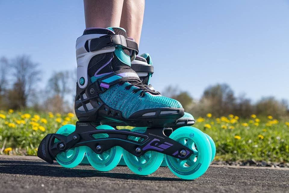 Fitness In Style Powerslide Is The First Inline Company Offering Performance Inline Skates Featuring The Powerknit U Inline Skating Rollerblading Roller Shoes