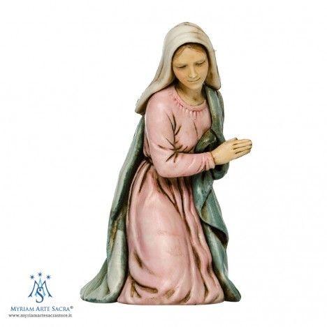 Madonna per la Natività 6 Pezzi del Presepe Landi 11 cm. | Madonna