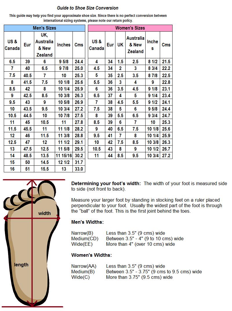 How to determine foot Width size Hacks/Useful Pinterest