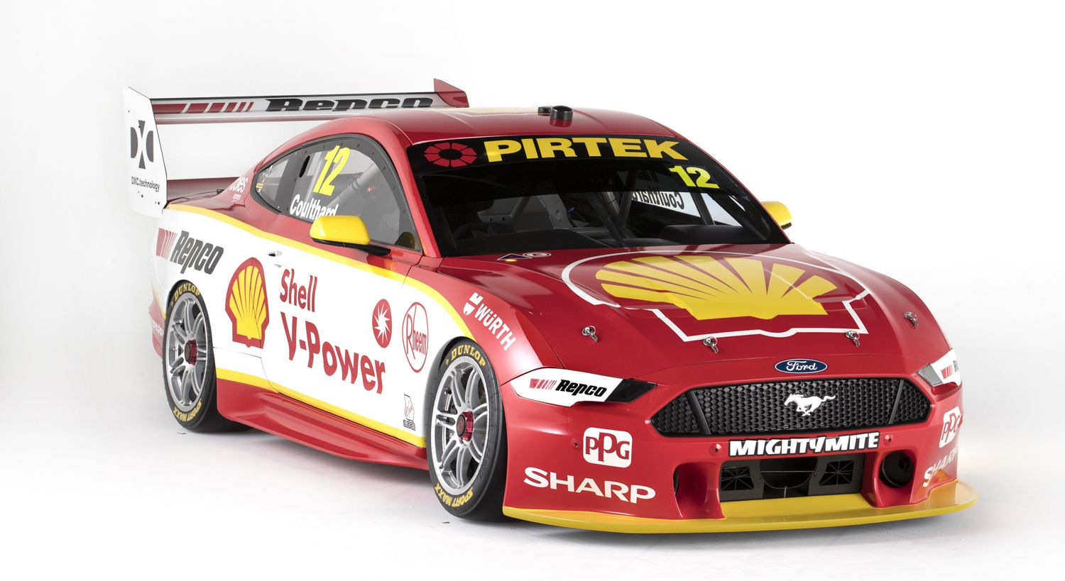 2019 Shell V Power Racing Ford Mustangs Ford Mustang Super Cars Ford Racing [ 819 x 1500 Pixel ]