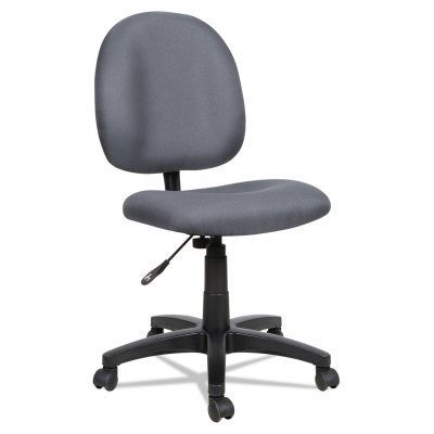 Alera Essentia Series Acrylic Swivel Task Chair Gray - ALEVT48FA40B, Durable